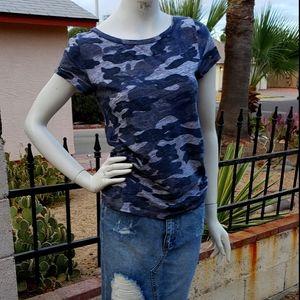 J.crew camouflage t-shirts